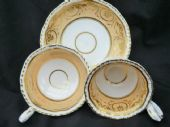 NOT FOR SALE H & R Daniel 2nd Gadroon tea & coffee trio